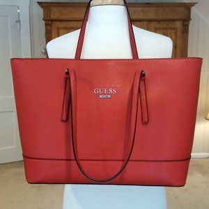 Red Guess Tote